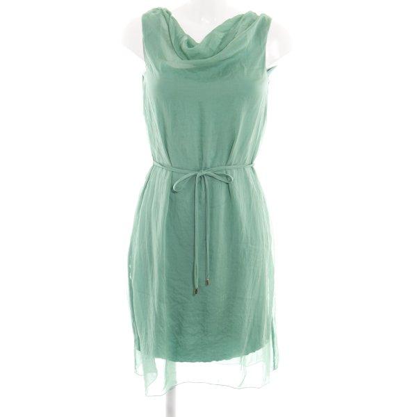 Hallhuber Blusenkleid grün Casual-Look