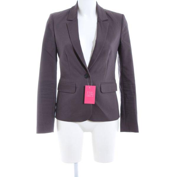 Hallhuber Donna Kurz-Blazer lila Business-Look