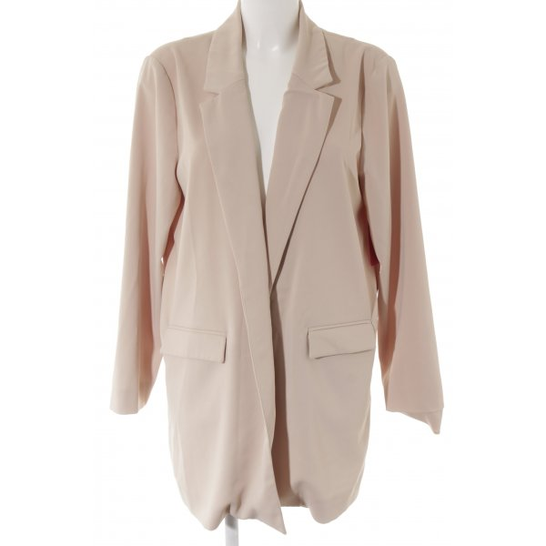 Hallhuber Long-Blazer creme Webmuster Casual-Look