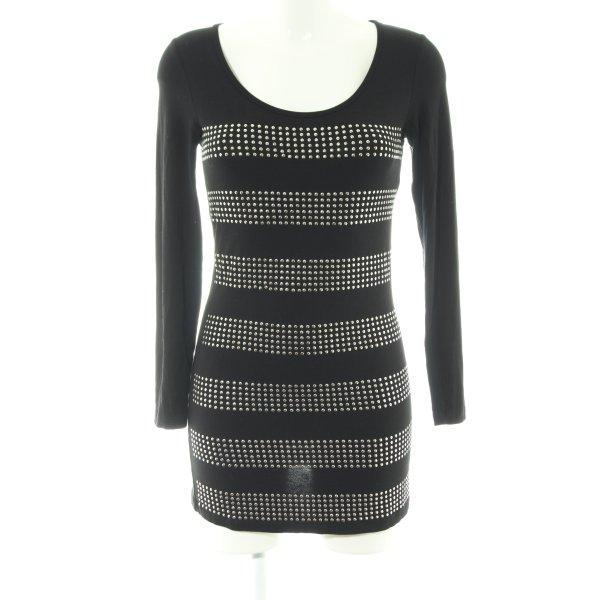 Hallhuber Shirtkleid schwarz Casual-Look