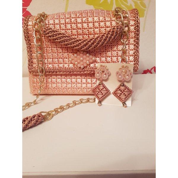 Borsellino color oro rosa
