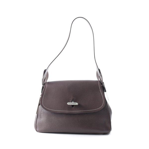 Handtasche dunkelbraun Casual-Look