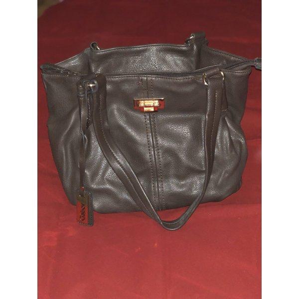 Handtasche dunkelbraun von Gabor