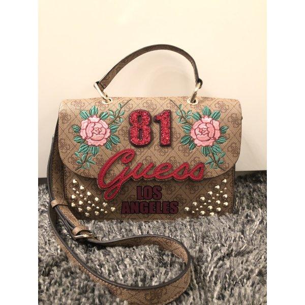 Handtasche in Love 4G-Logo von Guess