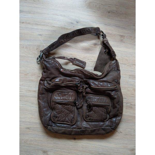 Handtasche Tasche braun Leder Legionnaire Neu