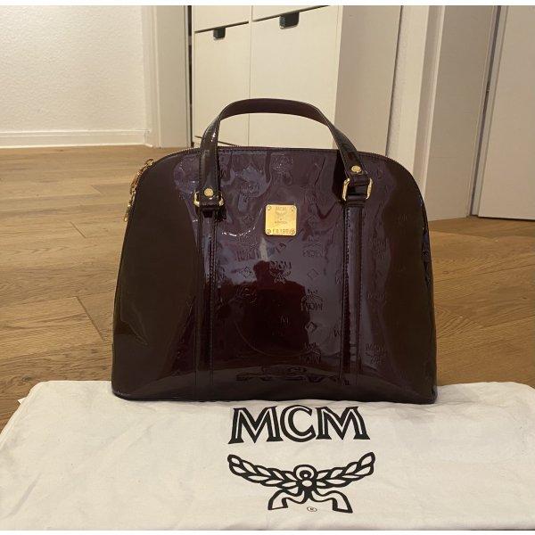 Handtasche von MCM in Bordeauxrot