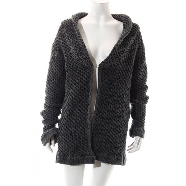 Haze & Glory Strick Cardigan anthrazit Casual-Look