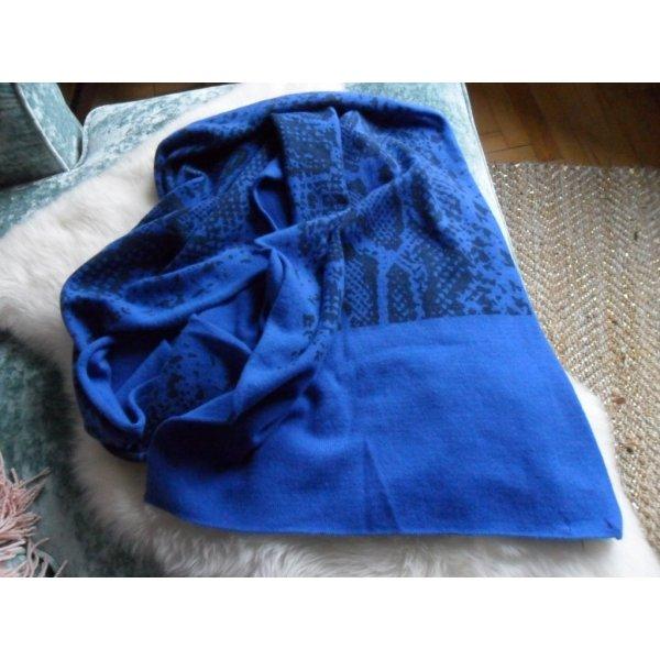 Headhunter 100% Kaschmir Tuch/Schal, kornblumenblau,190x50 cm, NP: über 250 Euro, NEU