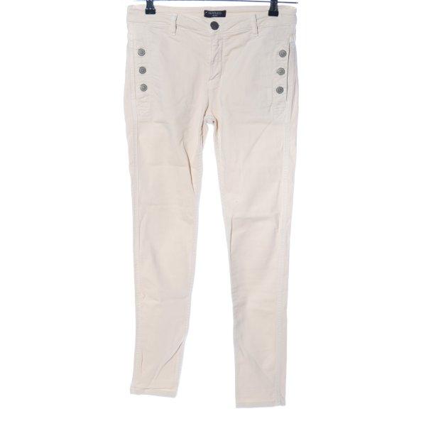 heartless jeans High-Waist Hose wollweiß Casual-Look