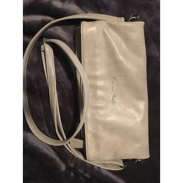 Fritzi aus preußen Clutch light grey