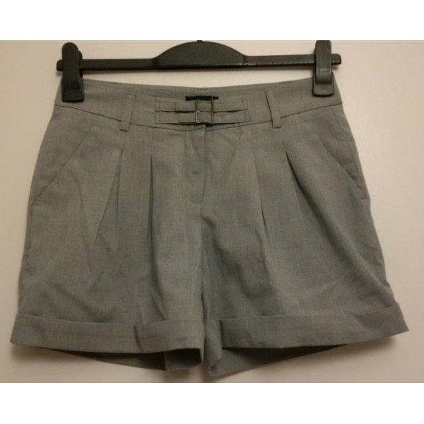 hellgraue Vero Moda Shorts Größe 34 im Anzugshosen-Stil