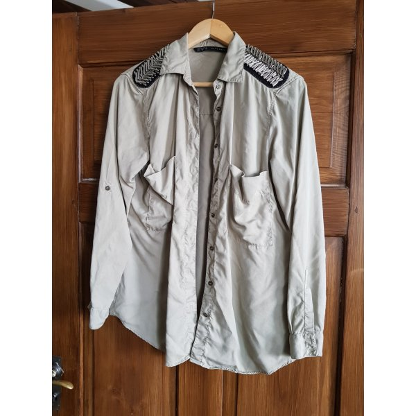 Hemd Military Style Zara Gr. M