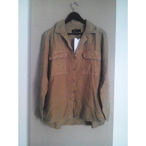 Hemdbluse aus 100% Leinen, Premium Collection, Größe M neu