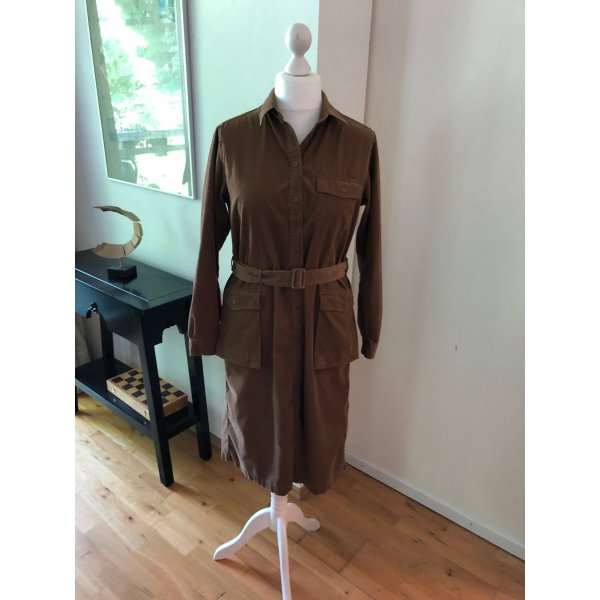 Hemdblusenkleid aus Baby-Cord. Limited Edition 'Ines de la Fressange by UNIQLO'