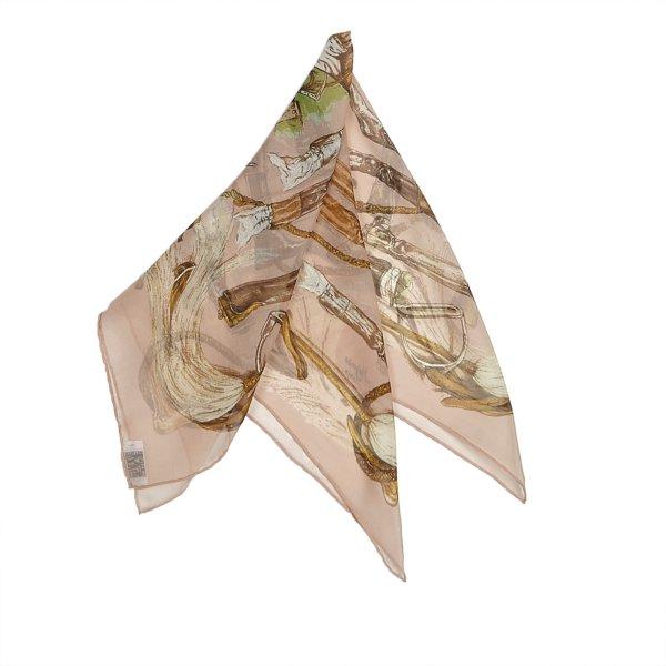 Hermes A Propos de Bottes Silk Scarf