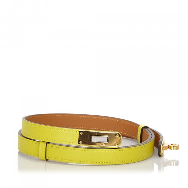 Hermes Epsom Kelly Belt
