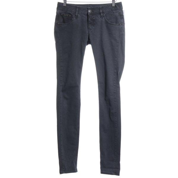 Herrlicher Slim Jeans dunkelgrau Street-Fashion-Look