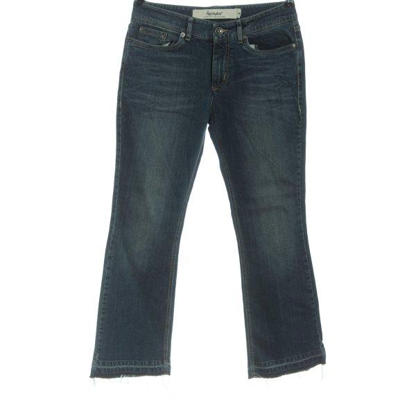 hessnatur Jeansschlaghose blau Casual-Look