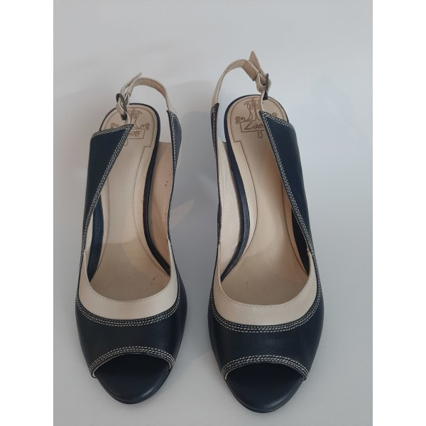 High Heel Sandaletten aus Leder