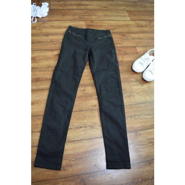 High Waist Jeans schwarz Gr. 36 FB Sister