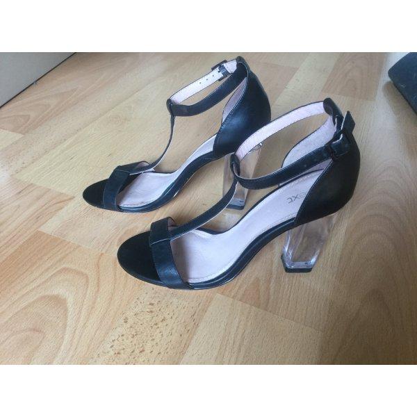 Next High Heel Sandal black leather