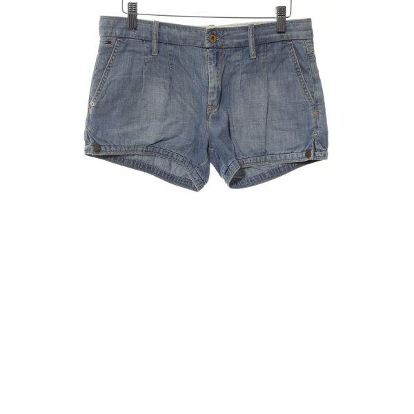 Hilfiger Denim Jeansshorts blau Street-Fashion-Look