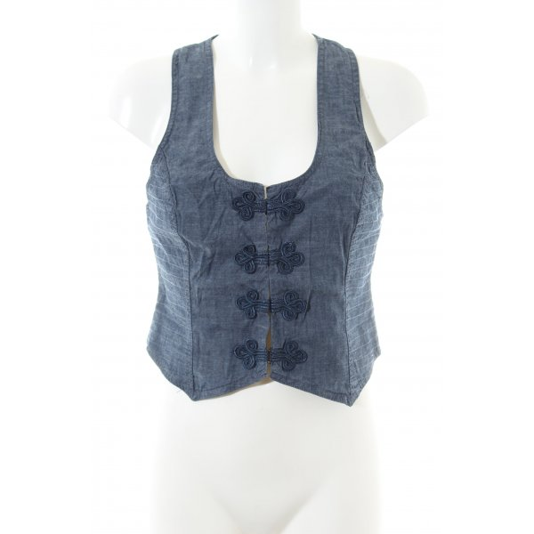Hilfiger Denim Jeansweste blau meliert Vintage-Look