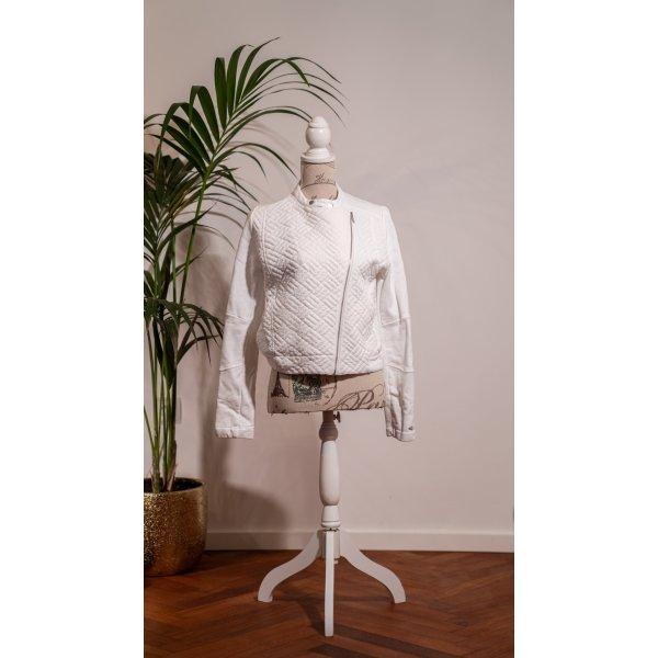 Hilfiger Jacke Weiß Größe S 36