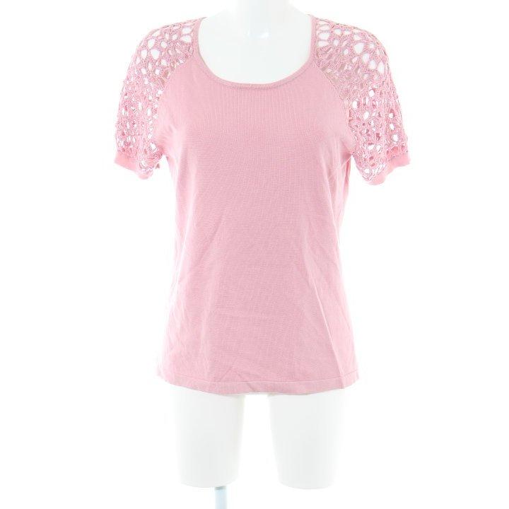 Himmelblau Kurzarmpullover rosa Casual-Look