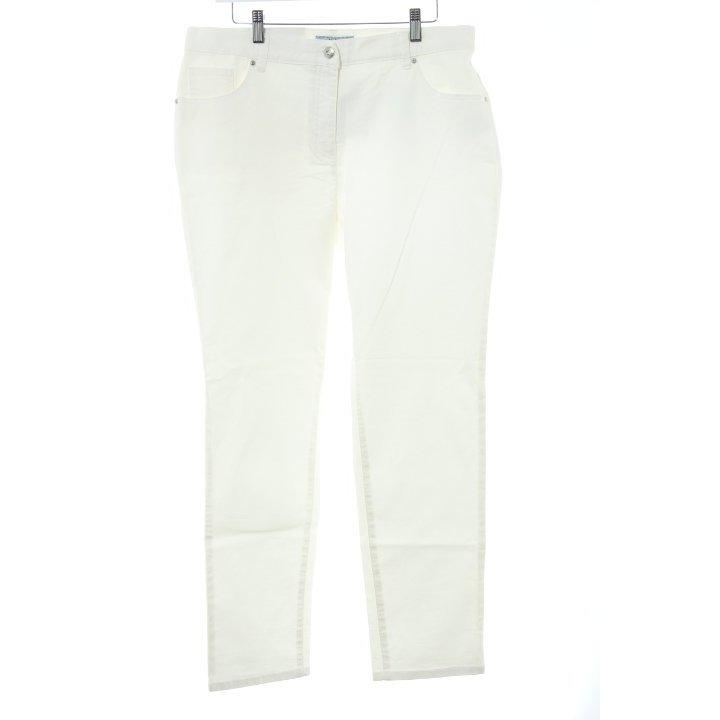 Himmelblau Skinny Jeans wollweiß Casual-Look