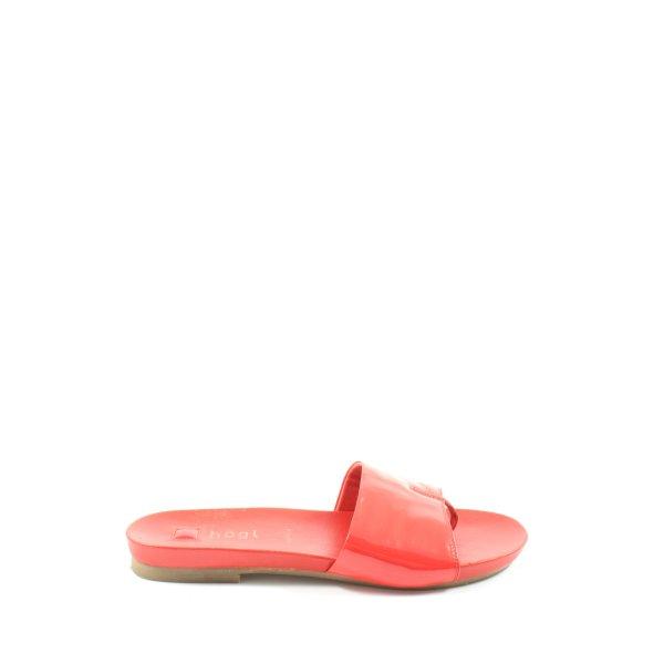 Högl Komfort-Sandalen rot Casual-Look