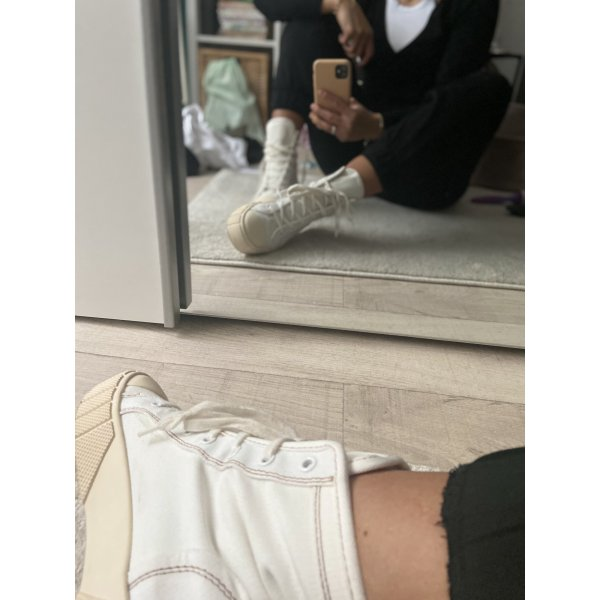 Hohe sneaker aus stoff
