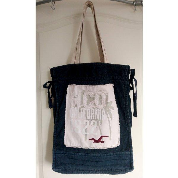 Hollister Cord-Tasche/Shopper • dunkel blau