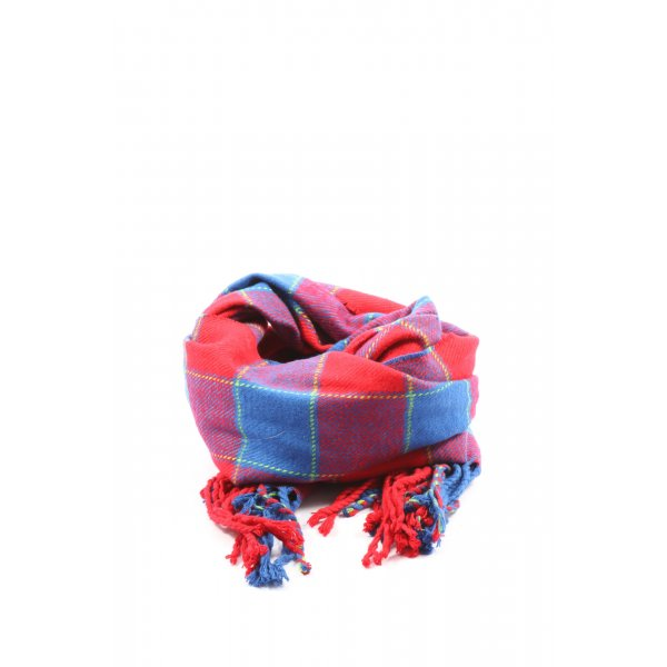 Hollister Fringed Scarf check pattern casual look