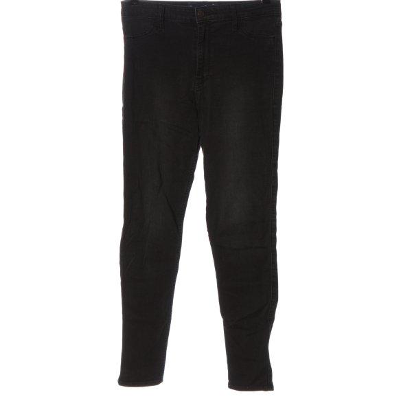 Hollister High Waist Jeans schwarz Casual-Look