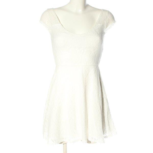 Hollister Minikleid weiß Elegant