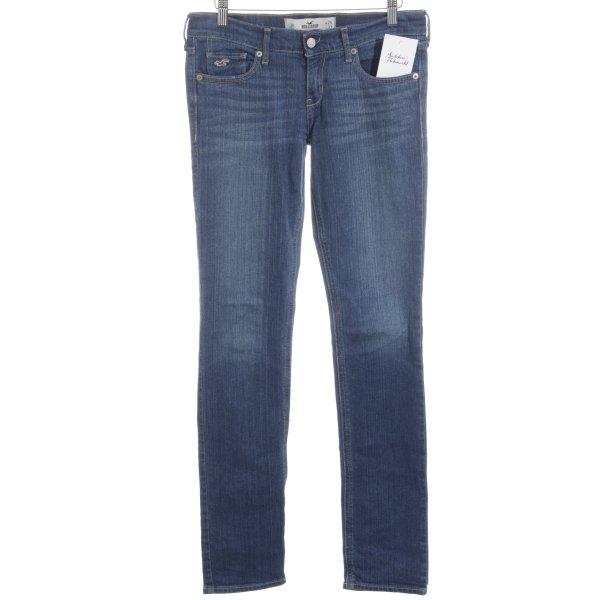 Hollister Skinny Jeans stahlblau schlichter Stil