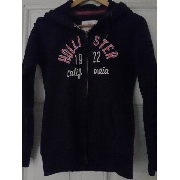 Hollister Shirt Jacket dark blue