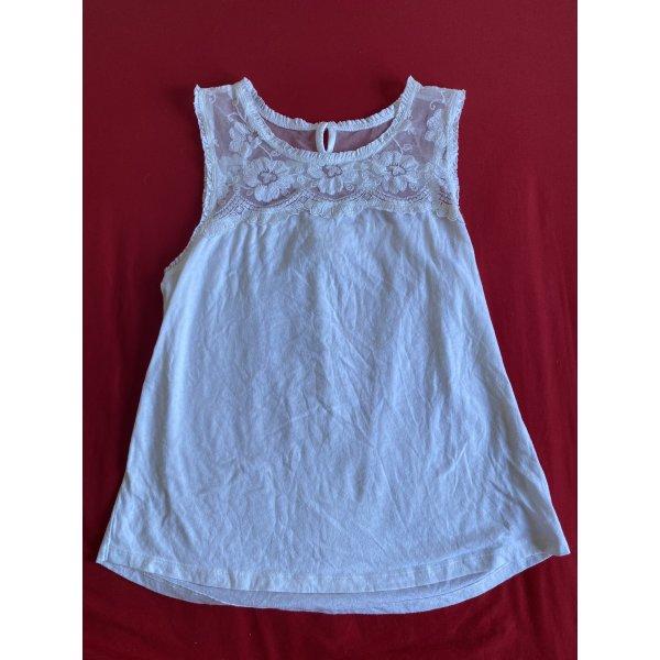 Hollister top weiß Shirt Gr. S