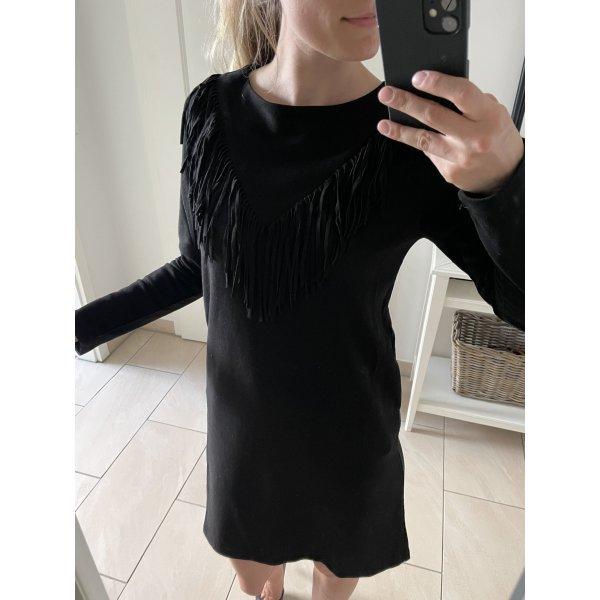 Holly Bracken Veloursleder Kleid