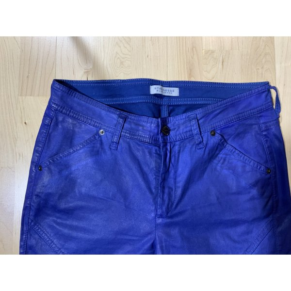 Hose / Jeans coated von Strenesse