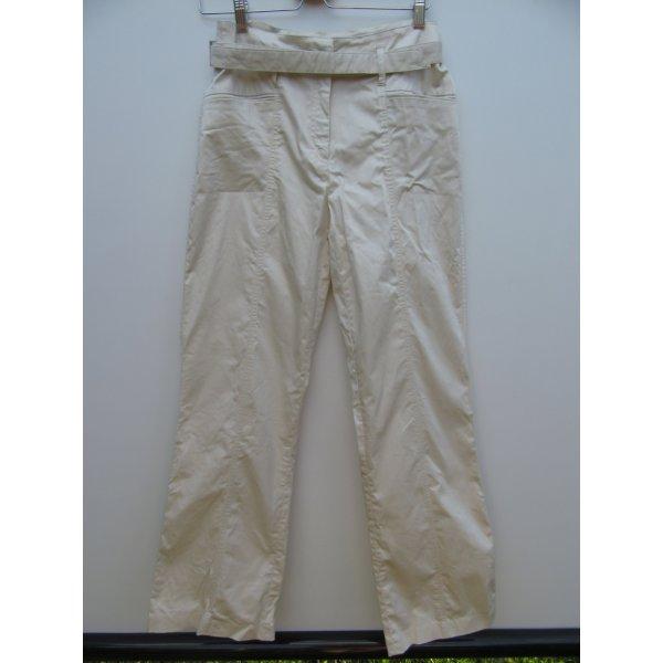 Vintage Pantalón abombado color oro-marrón arena