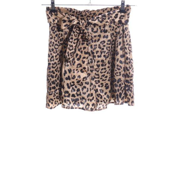 House of harlow 1960 Shorts braun-creme Allover-Druck extravaganter Stil