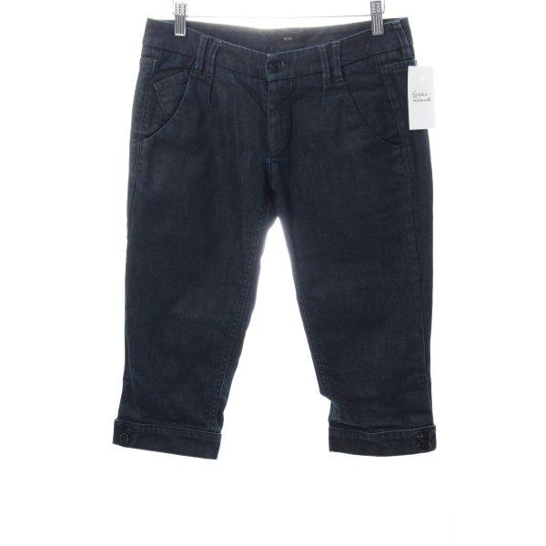 Hugo Boss 3/4 Jeans dunkelblau Casual-Look
