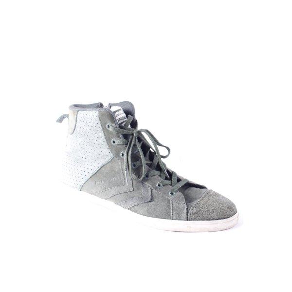 Hummel High Top Sneaker grüngrau Casual-Look