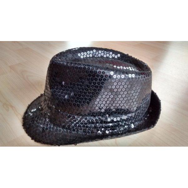 Cappello Trilby nero Poliestere