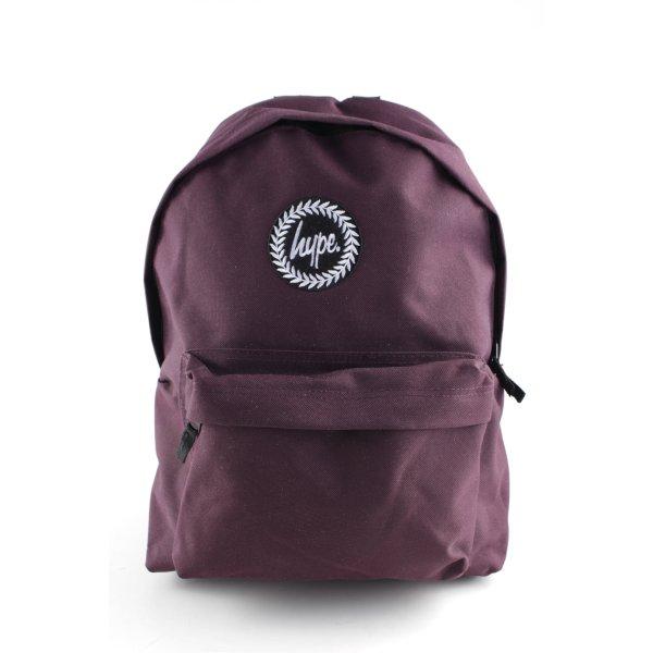 Hype Notebookrucksack braunviolett Casual-Look