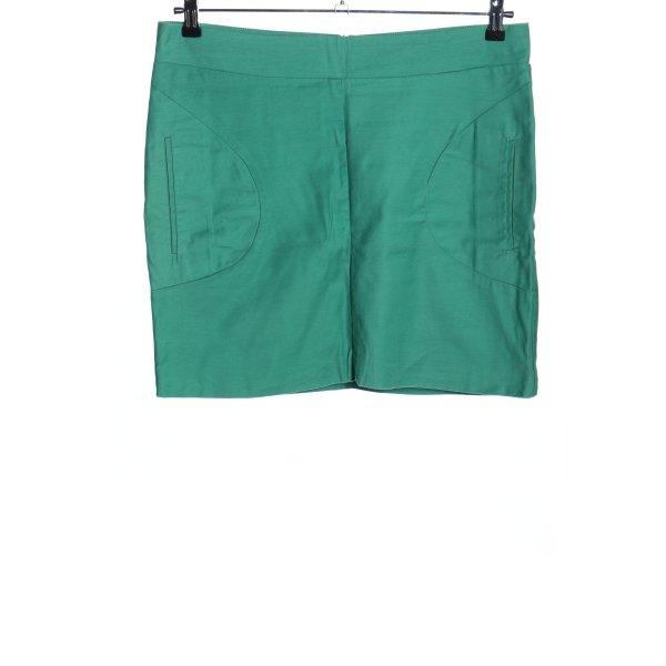 Ichi Minirock grün Casual-Look