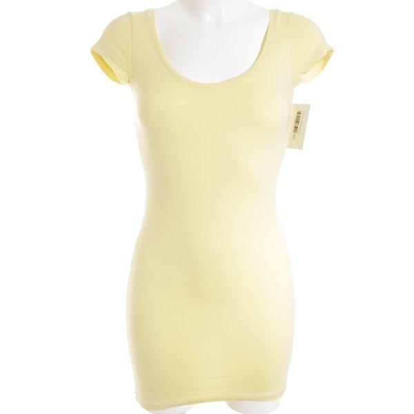Ichi T-Shirt hellgelb Casual-Look