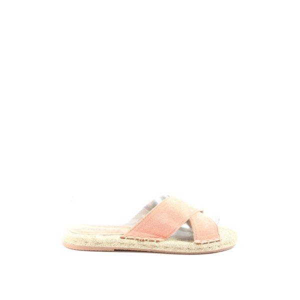 ideal shoes Komfort-Sandalen pink Casual-Look